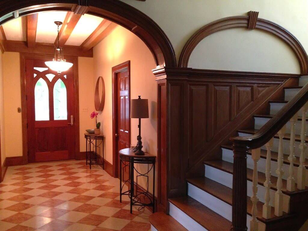 Providence Treatment Tour foyer and stairs